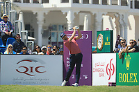 Nacho Elvira (ESP) in action during the final round of the Commercial Bank Qatar Masters, Doha Golf Club, Doha, Qatar. 10/03/2019<br /> Picture: Golffile | Phil Inglis<br /> <br /> <br /> All photo usage must carry mandatory copyright credit (&copy; Golffile | Phil Inglis)