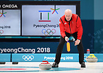 Glen Howard (GBR coach). Womens Curling training. Pyeongchang2018 winter Olympics Gangneung curling centre. Gangneung. Republic of Korea. 12/02/2018. ~ MANDATORY CREDIT Garry Bowden/SIPPA - NO UNAUTHORISED USE - +44 7837 394578