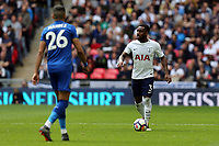 Riyad Mahrez of Leicester City and Danny Rose of Tottenham Hotspur during Tottenham Hotspur vs Leicester City, Premier League Football at Wembley Stadium on 13th May 2018