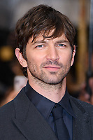 Michiel Huisman at 'The Guernsey Literary and Potato Peel Pie Society' film premiere, London, UK. <br /> 09 April  2018<br /> Picture: Steve Vas/Featureflash/SilverHub 0208 004 5359 sales@silverhubmedia.com