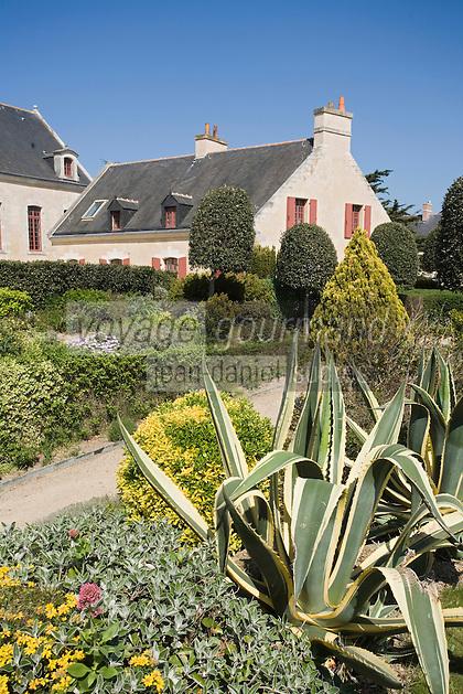 Europe/France/Bretagne/56/Morbihan/Belle-Ile/ Le Palais: Hôtel-Musée de la Citadelle -Citadelle Vauban les jardins et l'Hôtel