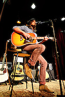 Tim Brantley performing as a support for Graham Colton, Michael Tolcher and Bryan Greenberg at Lucas School House in St. Louis on Nov 23, 2008.