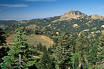 Brokeoff Mountain peak, Lassen Volcanic National Park, California