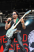 THE DEAD DAISIES - bassist Marco Mendoza -  performing live on Day One of the Ramblin' Man Fair in Mote Park Maidstone Kent UK - 23 Jul 2016. Photo credit: Zaine Lewis/IconicPix