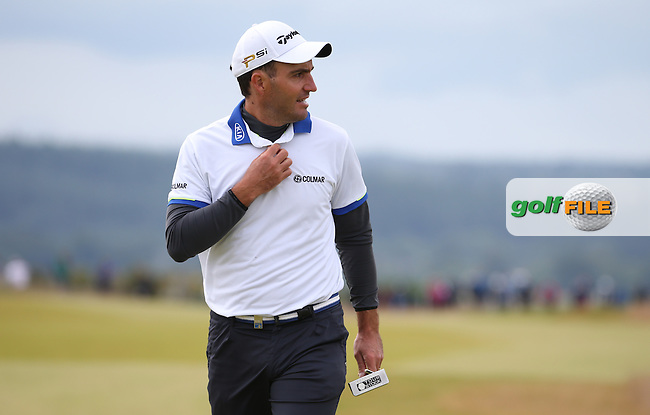 Edoardo Molinari (ITA) during Round Three of the 2016 Aberdeen Asset Management Scottish Open, played at Castle Stuart Golf Club, Inverness, Scotland. 09/07/2016. Picture: David Lloyd | Golffile.<br /> <br /> All photos usage must carry mandatory copyright credit (&copy; Golffile | David Lloyd)