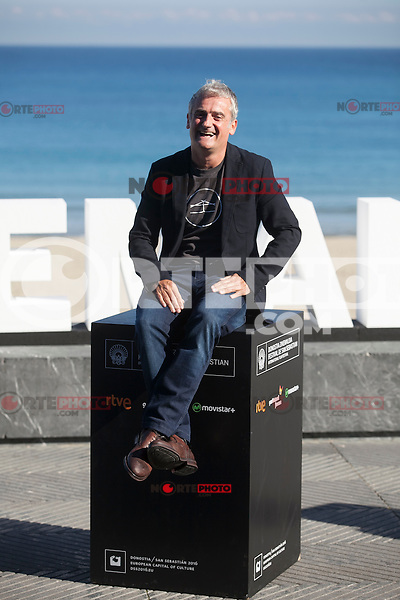 Movie director Asier Altuna poses during `Amama´ film presenation at 63rd Donostia Zinemaldia (San Sebastian International Film Festival) in San Sebastian, Spain. September 21, 2015. (ALTERPHOTOS/Victor Blanco) /NortePhoto.com