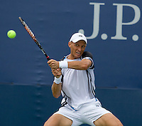 ..International Tennis - US Open - Day 1 Mon 31 Aug 2009 - USTA Billie Jean King National Tennis Center - Flushing - New York - USA ..Frey,  Advantage Media Network, Barry House, 20-22 Worple Road, London, SW19 4DH