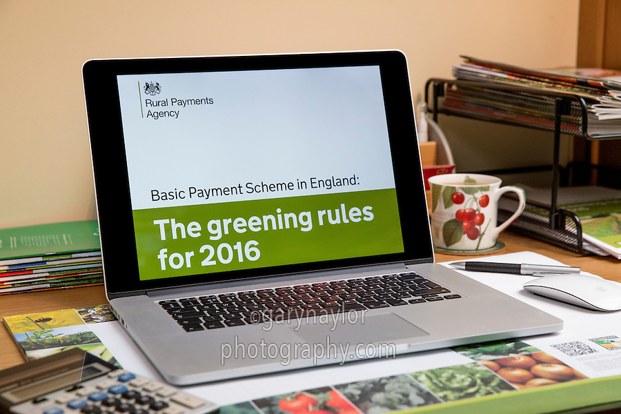 Basic Payment Scheme in England 2016 - Greening Rules