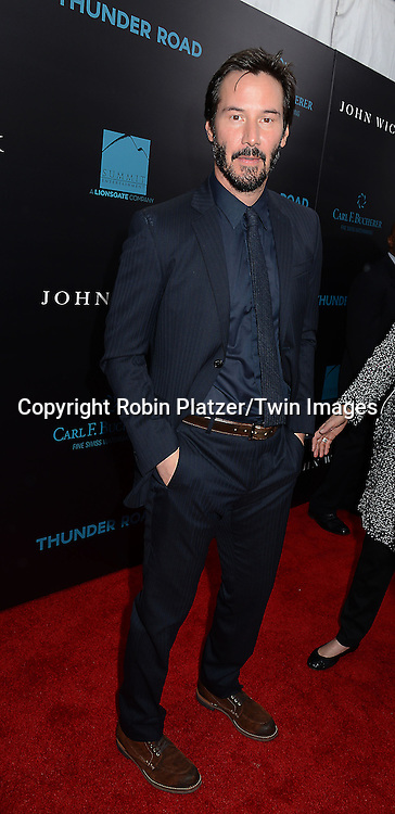 Keanu Reeves attends the Special Screening of &quot;John Wick&quot;  on October 13, 2014 at the Regal Union Square Stadium 14 in New York City.<br /> <br /> photo by Robin Platzer/Twin Images<br />  <br /> phone number 212-935-0770