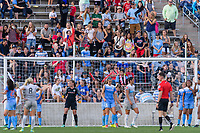 Bridgeview, IL - Sunday September 03, 2017: Fans during a regular season National Women's Soccer League (NWSL) match between the Chicago Red Stars and the North Carolina Courage at Toyota Park. The Red Stars won 2-1.