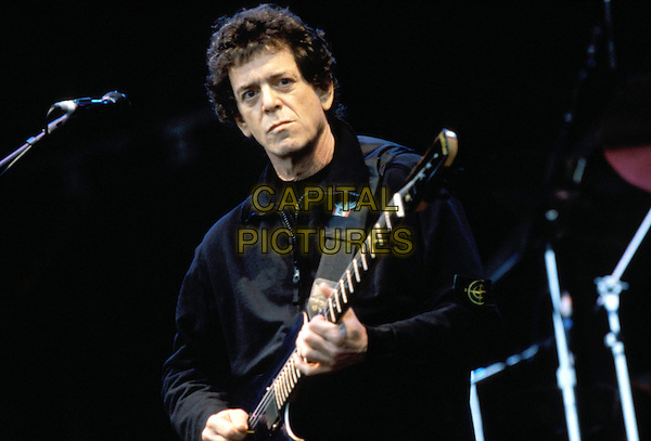LOU REED.Ref: Lefranc.playing live, concert, stage, guitar.www.capitalpictures.com.sales@capitalpictures.com.© Capital Pictures