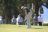 Alexander Knappe (AUS) in action on the 10th during Round 3 of the ISPS Handa World Super 6 Perth at Lake Karrinyup Country Club on the Saturday 10th February 2018.<br /> Picture:  Thos Caffrey / www.golffile.ie<br /> <br /> All photo usage must carry mandatory copyright credit (&copy; Golffile | Thos Caffrey)