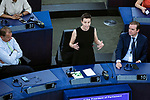 Strasbourg - France - 03 July 2019 -- MEP Ska KELLER, Group of the Greens/European Free Alliance. -- PHOTO: Juha ROININEN / EUP-IMAGES
