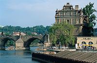 Tschechien, Prag, Karlsbrücke, Unesco-Weltkulturerbe