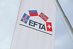 Flag, Flagge, Fahne, EFTA, Vaduz, Liechtenstein