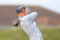 Charlie Thornton (Fulford) on the 5th tee during Round 1 of the The Amateur Championship 2019 at The Island Golf Club, Co. Dublin on Monday 17th June 2019.<br /> Picture:  Thos Caffrey / Golffile<br /> <br /> All photo usage must carry mandatory copyright credit (© Golffile | Thos Caffrey)