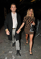 Rafferty Law and Clementine Linares at the Fendi Reloaded capsule collection launch party, Lost Rivers, Leake Street, London, England, UK, on Thursday 12 April 2018.<br /> CAP/CAN<br /> &copy;CAN/Capital Pictures