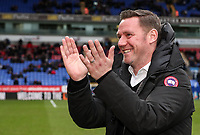 Former Bolton Wanderers' player Kevin Nolan   <br /> <br /> Photographer Andrew Kearns/CameraSport<br /> <br /> The EFL Sky Bet Championship - Bolton Wanderers v Norwich City - Saturday 16th February 2019 - University of Bolton Stadium - Bolton<br /> <br /> World Copyright © 2019 CameraSport. All rights reserved. 43 Linden Ave. Countesthorpe. Leicester. England. LE8 5PG - Tel: +44 (0) 116 277 4147 - admin@camerasport.com - www.camerasport.com