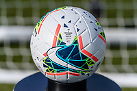 CHICAGO, IL - OCTOBER 06: Nike game ball during a game between the USA and Korea Republic at Soldier Field, on October 06, 2019 in Chicago, IL.