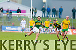 Anthony Maher Kerry in action against Neil Gallagher Donegal in Division One of the National Football League at Austin Stack Park Tralee on Sunday.