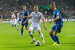 10.08.2019, wohninvest Weserstadion, Bremen, GER, DFB-Pokal, 1. Runde, SV Atlas Delmenhorst vs SV Werder Bremen<br /> <br /> DFB REGULATIONS PROHIBIT ANY USE OF PHOTOGRAPHS AS IMAGE SEQUENCES AND/OR QUASI-VIDEO.<br /> <br /> im Bild / picture shows<br /> <br /> Christian Groß / Gross (Werder Bremen #36)<br /> Florian Stütz (SV Atlas Delmenhorst #13)<br /> <br /> Foto © nordphoto / Kokenge