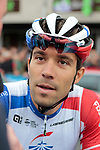 Thibaut Pinot (FRA) Groupama-FDJ before Stage 1 of the Criterium du Dauphine 2019, running 142km from Aurillac to Jussac, France. 9th June 2019<br /> Picture: Colin Flockton | Cyclefile<br /> All photos usage must carry mandatory copyright credit (© Cyclefile | Colin Flockton)