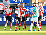 Nederland, Rotterdam, 15 mei 2014<br /> Jupiler Play-Offs<br /> Finale<br /> Sparta-FC Dordrecht (2-2)<br /> Mimoun Mahi (l.) van Sparta juicht na een doelpunt