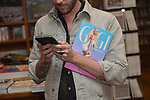 CORAL GABLES, FL - APRIL 10: Fans holding Gigi Gorgeous book during a book signing to Promotes Her New Book 'He Said, She Said: Lessons, Stories, and Mistakes from My Transgender Journey' at Books and Books on April 10, 2019 in Coral Gables, Florida.  ( Photo by Johnny Louis / jlnphotography.com )