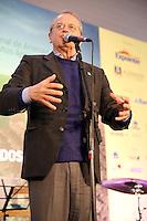 ESTEIO, RS, 05.08.2014 - LANÇAMENTO DA 37ª EXPOINTER - Tarso Genro, governador do Rio Grande do Sul, no almoço de lançamento da 37ª Expointer (Exposição Internacional de Animais, Máquinas, Implementos e Produtos Agropecuários) na Casa do Gaúcho em Esteio nesta terça-feira, 05. (Foto: Pedro H. Tesch / Brazil Photo Press).