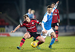 St Johnstone v Dundee&hellip;30.12.17&hellip;  McDiarmid Park&hellip;  SPFL<br />Paul McGowan and Stefan Scougall<br />Picture by Graeme Hart. <br />Copyright Perthshire Picture Agency<br />Tel: 01738 623350  Mobile: 07990 594431