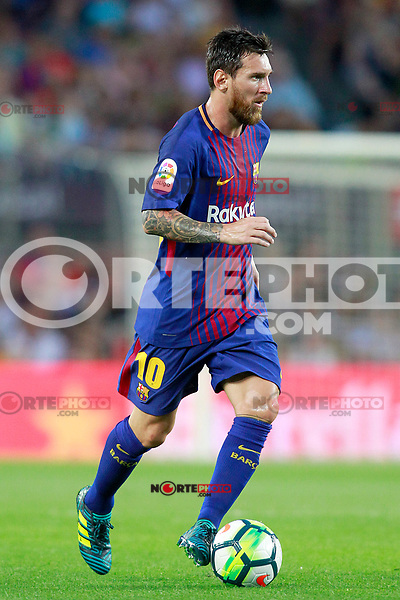 FC Barcelona's Leo Messi during Joan Gamper Trophy. August 7,2017. (ALTERPHOTOS/Acero) /NortePhoto.com