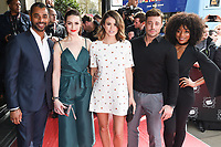 Karl Collins, Anna Passey, Sophie Austin, Duncan James and Rachel Adedeji<br /> arrives for the T.R.I.C. Awards 2017 at the Grosvenor House Hotel, Mayfair, London.<br /> <br /> <br /> &copy;Ash Knotek  D3240  14/03/2017