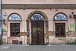 2020-02-16. Kraków. Graffiti na ul. Józefa na Krakowskim Kazimierzu.