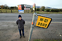 TO GO WITH BREXIT STORY BY WWILLIAM WALLIS DATE: 31 Jan 2019 - Padar MacNamee on the Dublin Road outside Newry, South Armagh, Northern Ireland. Photo/Paul McErlane