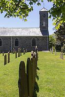 Royaume-Uni, îles Anglo-Normandes, île de Sark (Sercq) : Eglise Saint Peters:  Eglise anglicane  paroissiale.  // United Kingdom, Channel Islands, Sark Island (Sercq)   Big Sark, Saint Peter's Anglican church