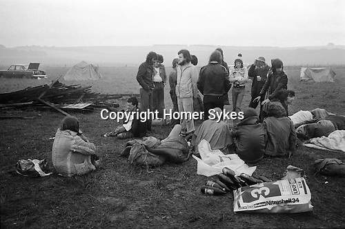 Free festival at Stonehenge Summer Solstice 1976...