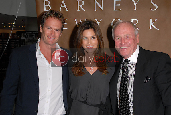 Rande Gerber, Cindy Crawford and Jerry Weintraub<br />