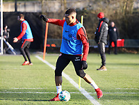 Simon Falette (Eintracht Frankfurt) - 14.02.2018: Eintracht Frankfurt Training, Commerzbank Arena