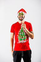 Wednesday 02 November 2016<br /> Pictured: Borja Gonzalez<br /> Re: Swansea City Christmas Photo shoot, Liberty Stadium, Wales, UK