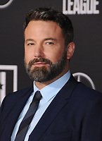 13 November  2017 - Hollywood, California - Ben Affleck. &quot;Justice League&quot; Los Angeles Premiere held at The Dolby Theater in Hollywood. <br /> CAP/ADM/BT<br /> &copy;BT/ADM/Capital Pictures