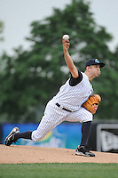Trenton Thunder pitcher Bruce Billings (14) during game against the Erie Sea Wolves at ARM & HAMMER Park on May 15, 2014 in Trenton, NJ.  Erie defeated Trenton 4-2.  (Tomasso DeRosa/Four Seam Images)