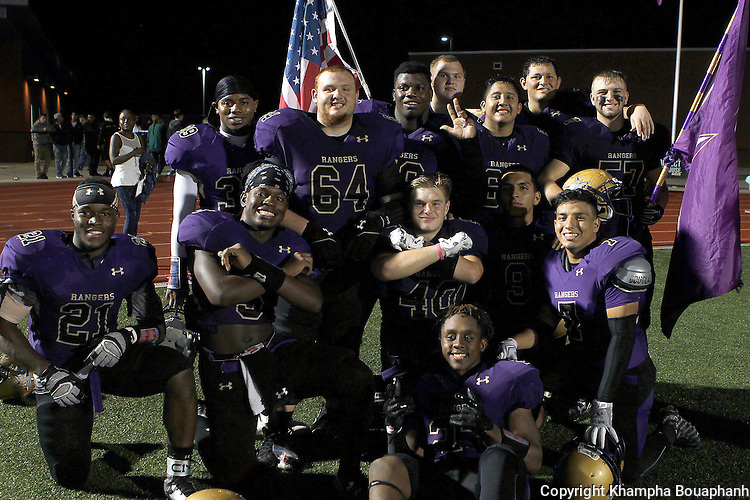 Chisholm Trail plays Saginaw in district 6-5A high school football on Friday, November 4, 2016.