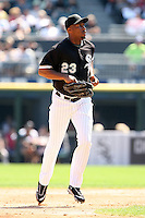 August 15 2008:  Right Fielder Jermaine Dye of the Chicago White Sox during a game at U.S. Cellular Field in Chicago, IL.  Photo by:  Mike Janes/Four Seam Images