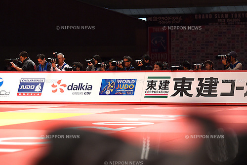 Photographers/General view, <br /> DECEMBER 6, 2014 - Judo : <br /> IJF Grand Slam Tokyo 2014 International Judo Tournament <br /> at Tokyo Metropolitan Gymnasium, Tokyo, Japan. <br /> (Photo by AFLO SPORT) [1220]