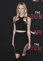 "HOLLYWOOD, CA - OCTOBER 10:  Greer Grammer at the Los Angeles world premiere of ""The Accountant"" at TCL Chinese Theater on October 10, 2016 in Hollywood, California. Credit: mpi991/MediaPunch"