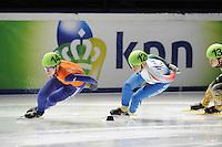 SCHAATSEN: DORDRECHT: Sportboulevard, Korean Air ISU World Cup Finale, 10-02-2012, Annita van Doorn NED (14), Arianna Fontana ITA (126), ©foto: Martin de Jong