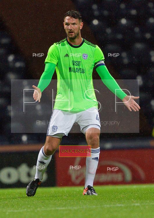12/09/2017 Sky Bet League Championship Preston North End v Cardiff City<br /> <br /> Sean Morrison, Cardiff City FC