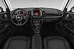 Stock photo of straight dashboard view of 2018 MINI CLUBMAN Cooper 5 Door wagon Dashboard