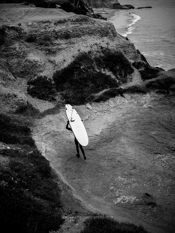 Surfer, Aptos, CA