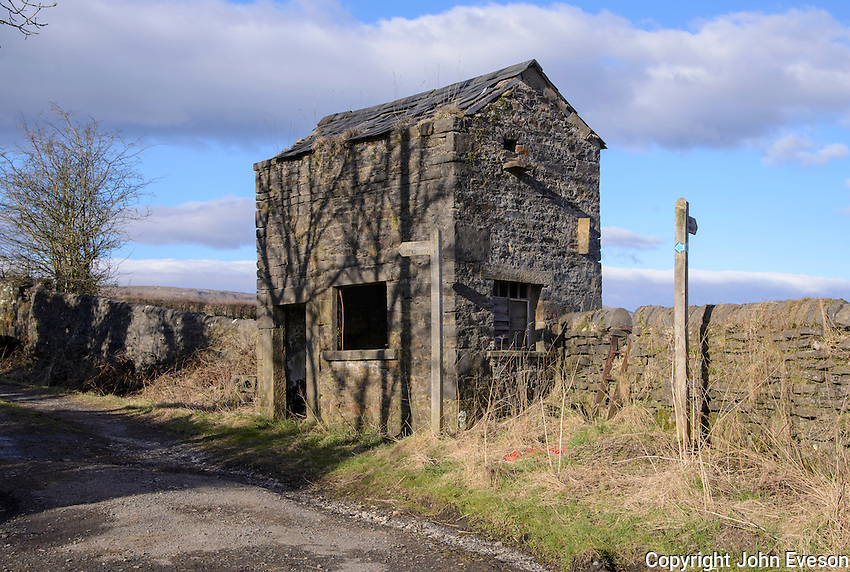 An old quarry telling house, Chipping, Lancashire.